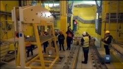 У Чорнобилі на сховищі відпрацьованого ядерного пального триває етап випробувань. Відео