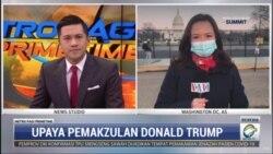 Laporan Langsung VOA untuk Metro TV: Trump, Presiden AS yang Dimakzulkan 2 Kali