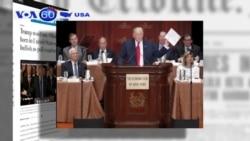 Ông Trump đổi ý, công nhận Tổng thống Obama sinh ra tại Mỹ (VOA60)