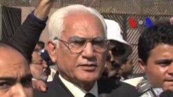 سابق صدر پرویز مشرف کے وکیل احمد رضا قصوری کی صحافیوں سے گفتگو