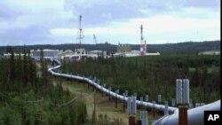 Трансаляскинский нефтепровод (архивное фото)
