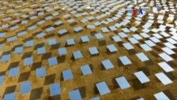 Despliegue solar con torre más alta del mundo