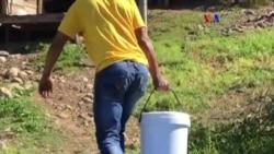 Kit solar en un balde