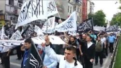 İstanbul'da 'Hilafet' Yürüyüşü