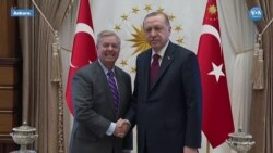 ABD'li Senatör Graham Ankara'da Temaslarda Bulundu