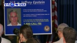 VOA60 America- Hedge fund billionaire Jeffrey Epstein charged Monday with running a sex trafficking ring