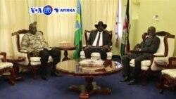 VOA60 AFIRKA: SOUTH SOUDAN An Rantsar da Sabon Shugaban 'Yan Tawayen Sudan ta Kudu Riek Machar a Matsayin Mataimakin Shugaban kasa.