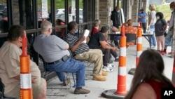 Red za traženje posla, Omaha, Nebraska (Foto: AP)