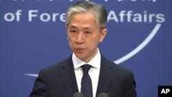 Người phát ngôn Bộ Ngoại giao Trung Quốc Uông Văn Bân.