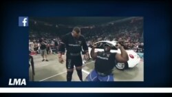 Page sports : Iron Biby champion de walk car, haltérophilie et rugby.