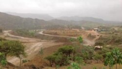 Birkito Dam, 70 km south of the Capital Asmara