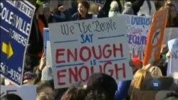 """У США пройшов """"Загальнонаціональний страйк шкіл"""". Відео"""