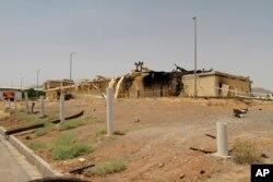 ایران کا زیر زمین جوہری پلانٹ جہاں حال ہی میں یورینم کی افزودگی شروع کی گئی ہے۔