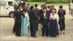 2018-08-20 美國之音視頻新聞: 韓戰後離散家屬三年來首次團聚