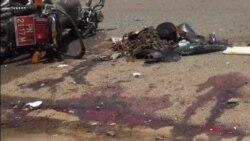 Les premières images du double attentat de ce lundi a N'Djamena