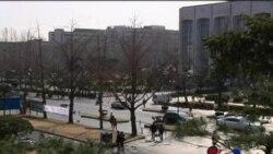 朝鲜威胁战争 在韩外国人平静