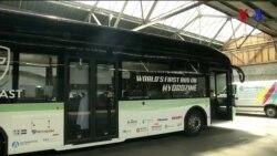 Combustíveis limpos para autocarros, invenção de grupo de estudantes da Holanda