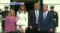 Manchetes Americanas 15 Fevereiro 2017: Encontro entre Trump e Netanyahu
