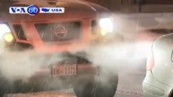 Bão tuyết nghiêm trọng ập vào bờ đông Mỹ (VOA60)