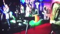 اجرای قطعه ای توسط گروه پالت در هجدهمین جشن خانه سینما