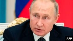 블라디미르 푸틴 러시아 대통령.
