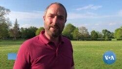 VOA英语视频: 记者手记:疫情封城意外给伦敦人带来了清新空气