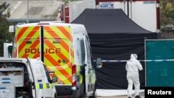 Policija u Eseksu gde je pronađen kamion sa telima
