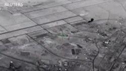 Video vụ Iran tấn công căn cứ Mỹ bằng tên lửa đạn đạo
