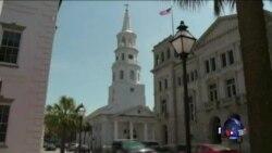 美国南卡州教堂枪击案 九人丧生
