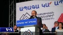 Pas fitores në zgjedhje, udhëheqësi i Armenisë bën thirrje për pajtim