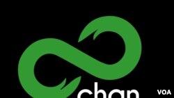 8chan logo, anonymous online forum