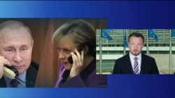 Меркель и Макрон обсудили Беларусь с Путиным