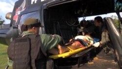 Avanzan labores de rescate en Brasil