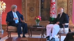 Kerry in Kabul to Broker Political Resolution