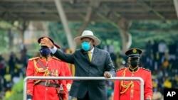 Prezidaantii Yugaandaa Yuweerii Museveenii