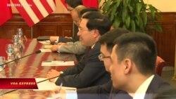 Ngoại trưởng Mỹ-Việt trao đổi về 'thao túng tiền tệ'