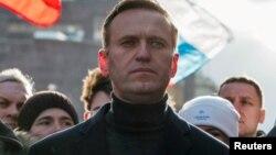 ႐ု႐ွားအစိုးရအတိုက္အခံ Alexei Navalny။ (ေဖေဖာ္ဝါရီ ၂၉၊ ၂၀၂၀)