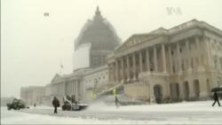 Перший сніг у Вашингтоні