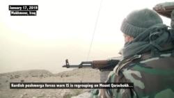 IS Taking Refuge in Iraq Mountains, Peshmerga Warn