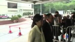 2017-01-03 美國之音視頻新聞: 香港前特首曾蔭權涉貪案開審