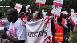 Kenya Protesters Demand End to Extrajudicial Killings by Police