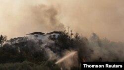 آتشسوزیهای مناطق جنگلی جنوب ترکیه