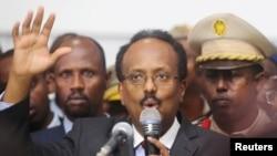 Serokê Somalî Mihemed Ebdullahî Farmajo,