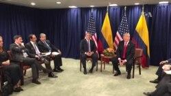 Reunion Trump Duque en la ONU
