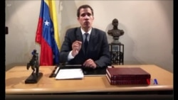 2019-01-28 美國之音視頻新聞: 委內瑞拉反對派領袖向軍人提供大赦