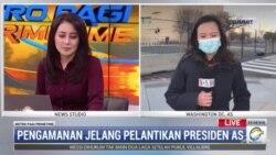 Laporan Langsung VOA untuk Metro TV: Pengamanan Jelang Pelantikan Presiden AS