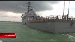Chiến hạm John S. McCain gặp nạn, 10 người mất tích