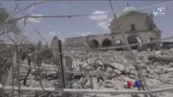伊斯蘭國炸毀大清真寺意味著其權力的終結(粵語)