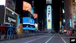 Times Square, 31. decembar 2020.
