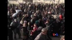 2018-03-16 美國之音視頻新聞:大批平民逃離敘利亞東古塔地區